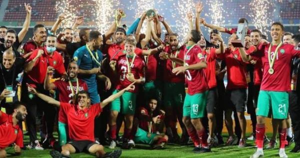 """المنتخب المغربي يهيمن على التشكيلة المثالية لـ""""الشان"""" (فيديو)"""
