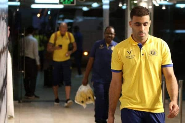 """الإعلام السعودي يكشف سبب """"غضبة"""" حمد الله على إدارة نادي النصر"""