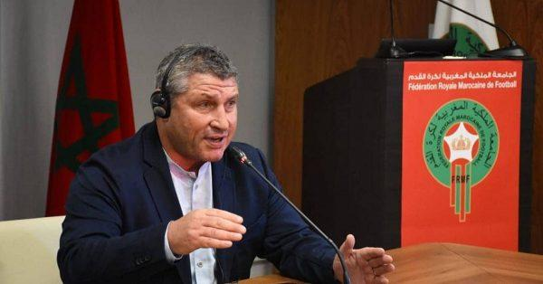 أوشن يقدم استقالته.. بلاغ الجامعة الملكية المغربية لكرة القدم