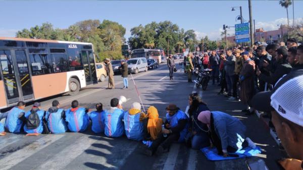 مكفوفون وحاملو شهادات معطلون يُصعّدون في مواجهة ولاية مراكش