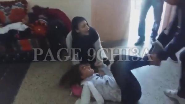 فيديو صادم..هستيريا جماعية تضرب تلميذات احدى المدارس بالدار البيضاء