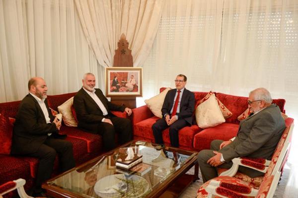 العثماني: استقبال هنية يؤكد دعم المغرب ملكا وحكومة وشعبا للقضية الفلسطينية
