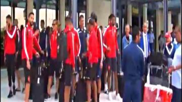 بالفيديو:لحظة وصول بعثة الوداد الى الجزائر لمواجهة وفاق سطيف