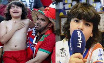 أصغر مشجع للمنتخب الوطني يرحب بحليلوزيتش ويريد عودة حمد الله