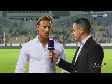 شاهد تصريح رونار بعد الفوز المستحق على الكاميرون ..أشاد بهذا اللاعب