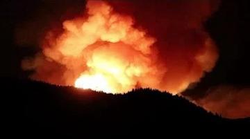 إجلاء أكثر من 2000 شخص إثر حريق مهول في جزر الكناري