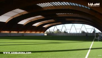 مشاهد ولا أروع من قلب مركب محمد السادس لكرة القدم الذي يصنف بين أفضل 3 مراكز في العالم