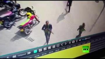 كاميرات المراقبة ترصد مهاجمي فندق في نيروبي