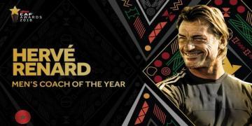 رونار يفوز بجائزة أفضل مدرب في أفريقيا سنة 2018 (فيديو)