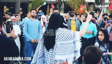 طنجة.. وقفة احتجاجية حاشدة تضامنا مع الشعب الفلسطيني