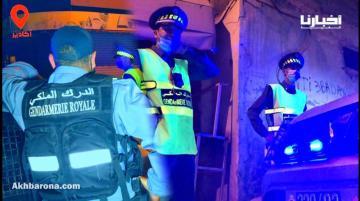 أكادير.. بعد دخول حظر التجوال الليلي حيز التنفيذ سلطات الدراركة تفرض تقييد التنقلات