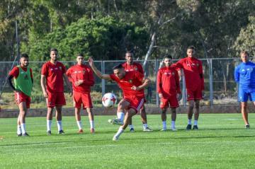 المنتخب المغربي يخوض ثاني حصة تدريبية قبيل موقعتي الأرجنتين ومالاوي