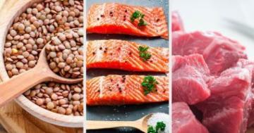 بالفيديو: أرخص 10 مصادر الأكثر إحتواء على البروتين !