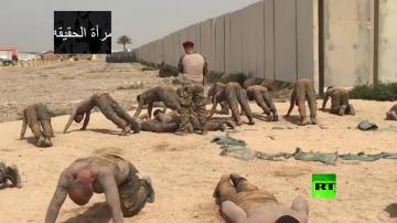 مثير ..شاهد كيف يتدرب الجنود في الجيش العراقي