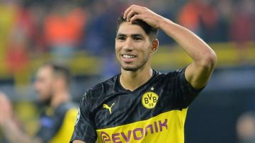 حكيمي أسرع لاعب في تاريخ الدوري الألماني