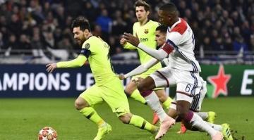 ليون يُجبر برشلونة على التعادل والحسم يتأجل لموقعة الكامب نو