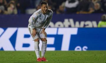 ريال مدريد يعلن تعرض هازارد للكسر في الكاحل الأيمن