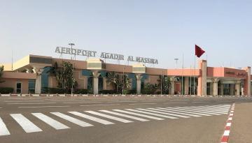 استئناف الرحلات الدولية بمطار أكادير-المسيرة واستقبال العائدين الأوائل من المغاربة المقيمين بالخارج