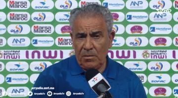 تصريح فوزي البنزرتي بعد الفوز على حساب الرجاء