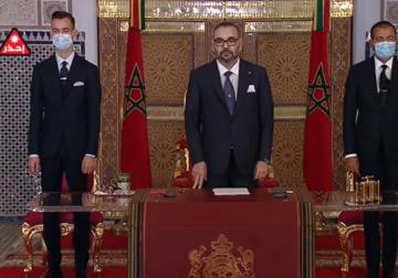 الخطاب الملكي بمناسبة الذكرى 22 لعيد العرش