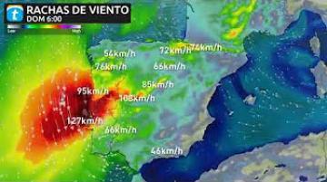 الإعصار ليزلي يتجه إلى إسبانيا والبرتغال