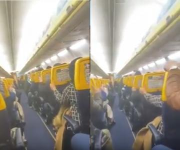 فيديو يوثق لحظات عصيبة لمسافرين مغاربة على متن طائرة متجهة من وجدة إلى بلجيكا