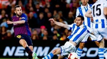 برشلونة يقترب خطوة جديدة نحو لقب الليغا (فيديو)