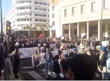 مسيرة حاشدة بالدار البيضاء لساكنة سوس للدفاع عن الارض والثروة