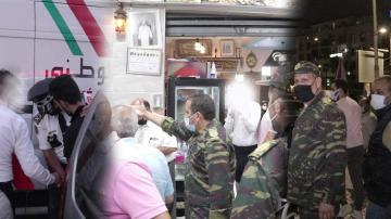 السلطات في حملة واسعة  تشعر المواطنين بقرار الإغلاق في التاسعة ليلا والإغلاق الكلي للحمامات والأندية