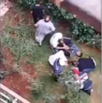 فيديو لفاجعة رمي أم لأطفالها الصغار من سطح منزل بالدار البيضاء