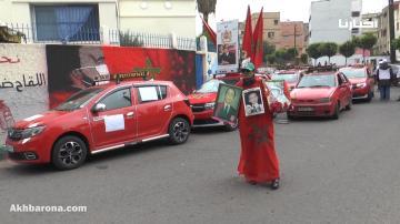 الدار البيضاء ...سيارات الأجرة تنقل المستفيدين من التلقيح مجانا