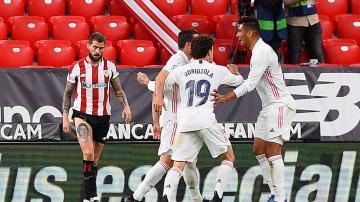 ناتشو يحافظ على حظوظ ريال مدريد لإحراز اللقب حتى الجولة الأخيرة