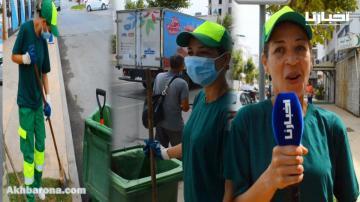 عاملة النظافة التي أثارت ضجة على مواقع التواصل تتحدث بجرأة وتكشف جزءا من حياتها اليومية وهذه رسالتها