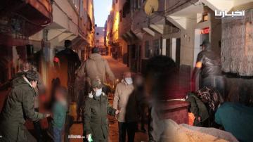 شاهد أقوى تدخلات القائدة الشجاعة ليلى لإخلاء أزقة و شوارع ميمونة