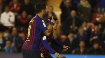 بالفيديو: برشلونة يسحق فالنسيا بخماسية..فاتي يسجل من جديد وسواريز يعود بقوة