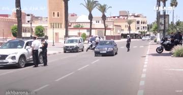 استعدادا لتخفيف الحجر الصحي.. مراقبة أمنية مشددة بشوارع سطات