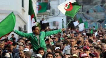 مظاهرات حاشدة في الجزائر رافضة للانتخابات الرئاسية قبل ساعات من التصويت