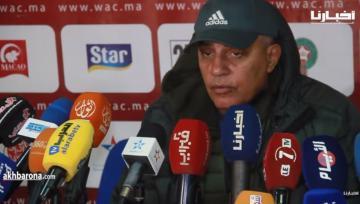 طاليب: خسرنا أمام بطل إفريقيا والجيش سيقول كلمته في باقي المباريات