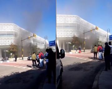 اندلاع حريق بمول الرباط سنتر