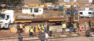 عمليات فرق الـ ONCF بوقنادل لاستعادة حركة سير القطارات