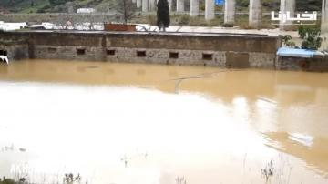 شاهد: خسائر مادية مهمة بالقصر الصغير بعد الفيضانات التي أغرقت المنطقة
