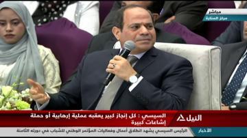 السيسي يرد على محمد علي بشأن تأجيل دفن والدته