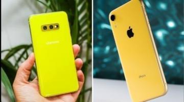 """مقارنة بين """"iPhone XR"""" و نظيره """"S10e"""" ...المميزات و الخصائص"""