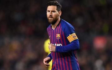 """""""ميسي"""" يحقق رقما لا نظير له في تاريخ الدوري الإسباني"""