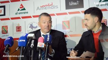مدرب المغرب التطواني يبرر التعثر أمام بني ملال..ومديحي يعتذر للاعبيه