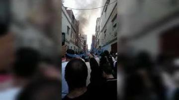 طنجة: حريق يلتهم منزلا بحومة الحداد