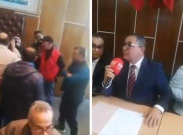 احتجاجات مواطنين تدفع رئيسة جماعة المحمدية للهروب من دورة استثنائية
