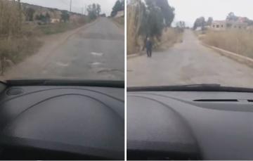 الغش في الطرقات .. فضيحة طريق تم إنجازها مؤخرا بإقليم الناظور