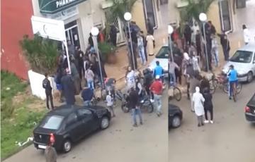 مواطنون يلقون القبض على لص حاول الهجوم على صيدلية بمرتيل
