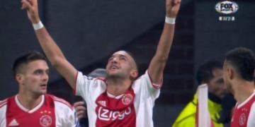 شاهد..هدف حكيم زياش أمام فينلو في الدوري الهولندي